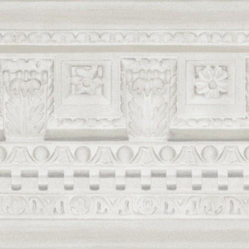 Frise papier peint Georgian Border - Cole and Son coloris Blanc 98-11049