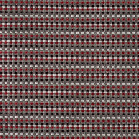 Vivien fabric - Panaz color Cherry-444