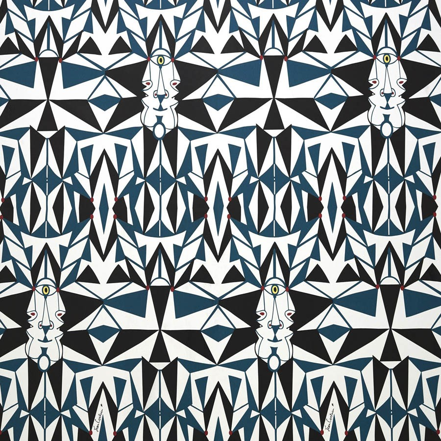 Email wallpaper - Lelièvre color Blue-6461-01