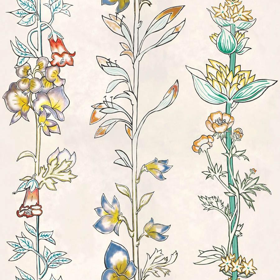 Milly la Forêt wallpaper - Lelièvre color Herbarium-6471-01