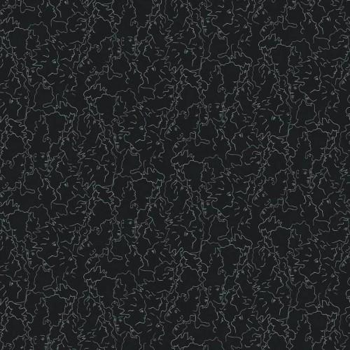 Ressemblance wallpaper - Lelièvre color Slate 6462-03
