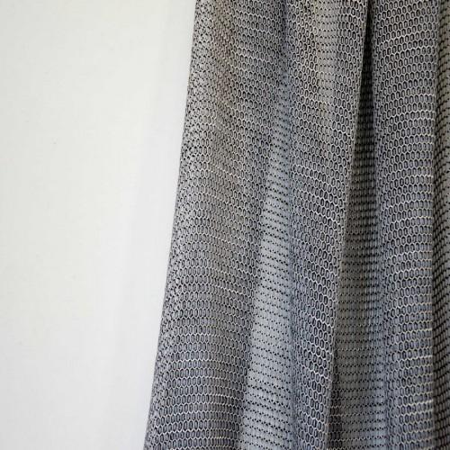 Ponza fabric - Luciano Marcato color Acciaio-LM14665-63
