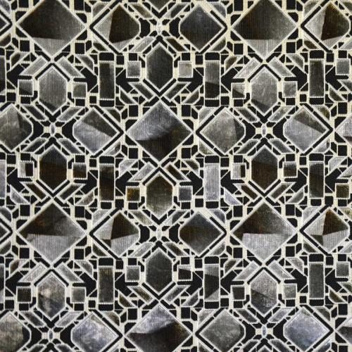 Velours Vitrail de Casal coloris Anthracite-12846-65