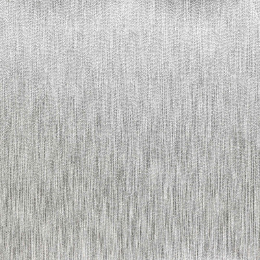 Fil Pose Mixed Linen mural wallcovering - Nobilis color Tin-LUX27