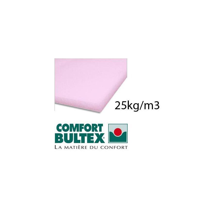 Plaque de mousse haute résilience 30kg/m3 160x200 cm