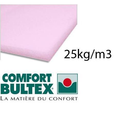 BULTEX flexible foam plate 25kg / m3 160x200 cm
