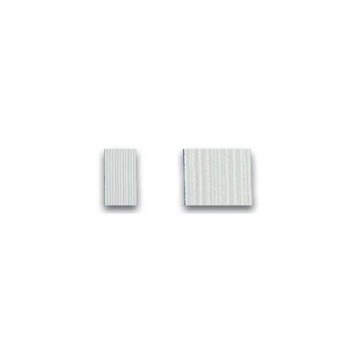 Rouleau de tresse élastique blanche en largeur 10 mm ou largeur 20 mm