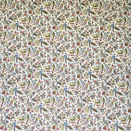 Toile de Jouy Les Coquecigrues de Casal référence 30417/190 multicolore