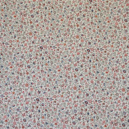 Toile de Jouy Eugenie de Casal 30414/7290 rouge-rose