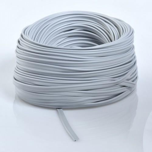 Roll of 100 ml of piping fabric 100% PVC Diameter 4mm grey