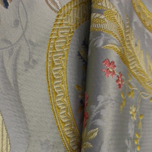 Marie Antoinette fabric from Tassinari & Chatel Blue 1553-01