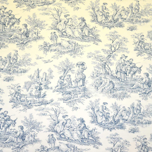 A la Campagne fabric from Casal 30342_10 Blue