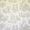 A la Campagne fabric from Casal 30342_77 Taupe-beige