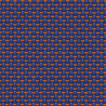 Orta fabric - Fidivi color Orange blue-002-9630-6