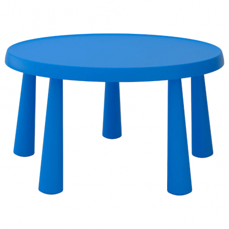 Transparent round tablecloths for children's tables Mammut Ikea ®