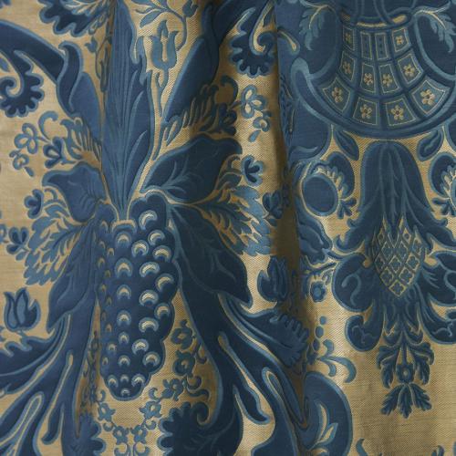 Monceau fabric - Lelièvre color Blue-1703-1702