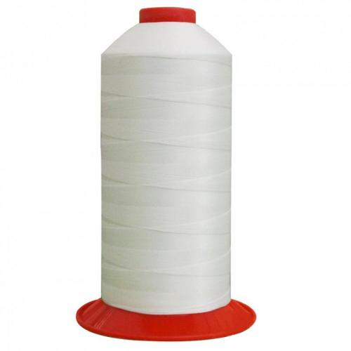 Fil à coudre Serafil n°10 bobine de 1000 ml coloris blanc