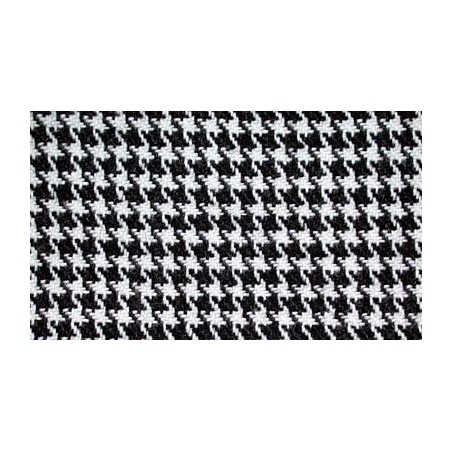 Genuine houndstooth fabric for Opel Manta