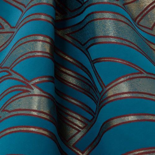 Tissu Duomo - Lelièvre coloris Canard 4250-01