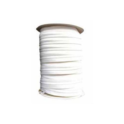 Rouleau fermeture éclair spirale YKK chaine 5 mm continu coloris blanc
