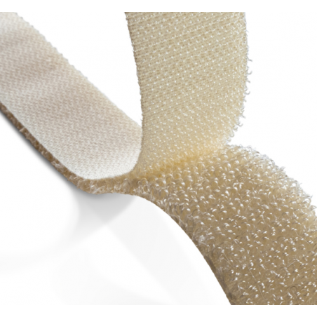 Rouleau de 50 ml de ruban scratch auto agrippant APLIX 800 largeur 25 mm coloris beige