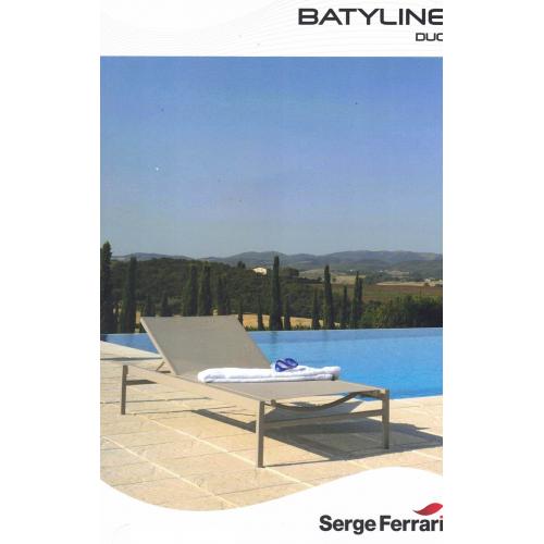 Plaquette d'échantillons toile Batyline Duo Serge Ferrari