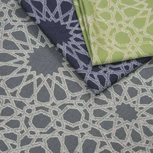 Tissu intérieur / extérieur Tangier coloris Turquoise - Donghia