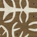 Tissu intérieur / extérieur Oahu coloris Marron - Donghia