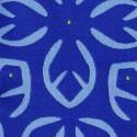 Tissu intérieur / extérieur Oahu coloris Bleu royal - Donghia