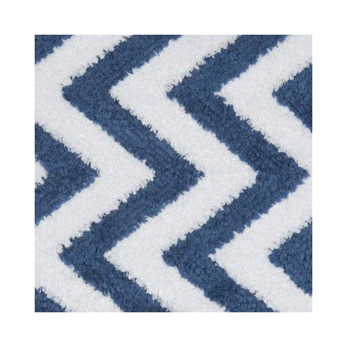 Tissu intérieur / extérieur ZigZag coloris Bleu - Donghia