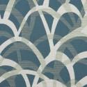 Tissu intérieur / extérieur Soirée coloris Turquoise - Donghia