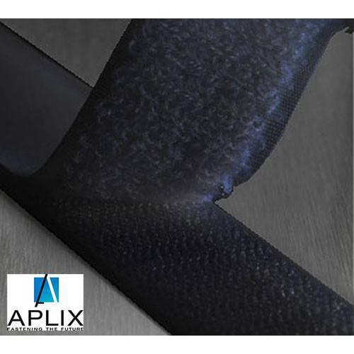Rouleau de ruban scratch auto agrippant APLIX 800 coloris noir largeur 20 mm, 25 mm ou 50 mm