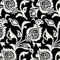 Tissu indoor outdoor Thibaut Bolton - Noir