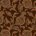 Tissu indoor outdoor Thibaut Bolton - Chocolat