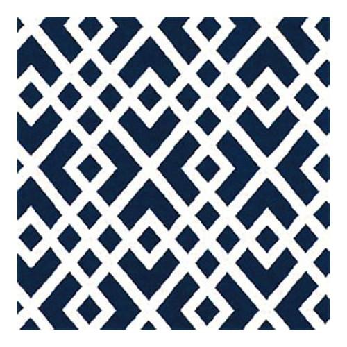 Tissu indoor outdoor Thibaut Gabriel - Navy