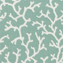 Indoor outdoor Thibaut Island Coral fabric