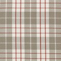 Tissu indoor outdoor Dedar Plaid - Beige