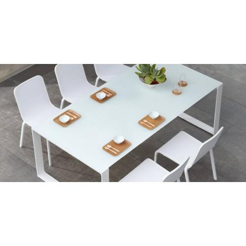 Table de repas rectangulaire pour l'extérieur Prato de Manutti