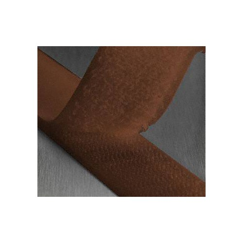 Ruban scratch auto agrippant coloris marron largeur 25 mm