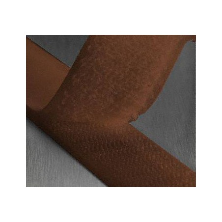 Auto scratch tape clutching brown color width 25 mm or 50 mm