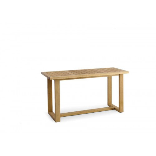 Outdoor console Siena by Manutti - Teak frame and top