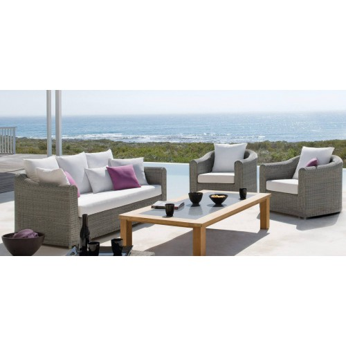 Rectangular outdoor coffee table Milano by Manutti