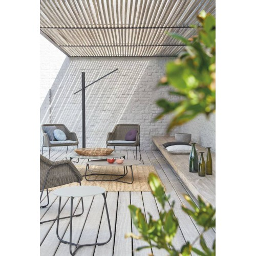 Round outdoor coffee table Mood by Manutti