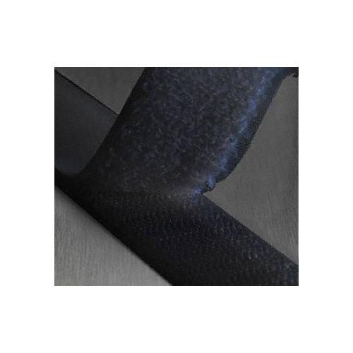 Ruban scratch auto agrippant adhésif coloris noir largeur 25 mm