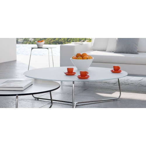 Round outdoor lounge table Mood by Manutti