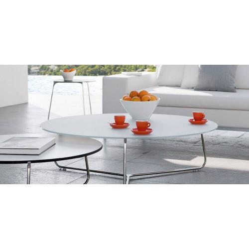 Table lounge ronde pour l'extérieur Mood de Manutti