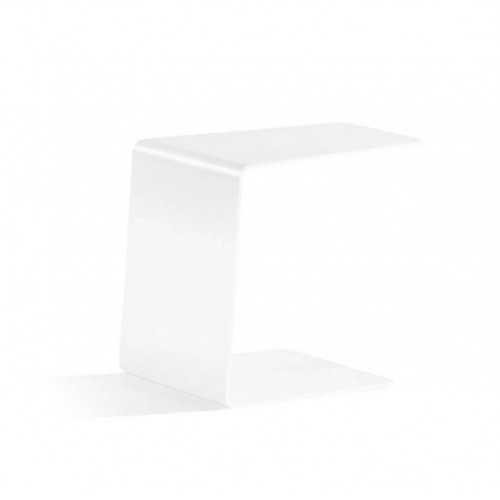 Closed outdoor side table by Manutti - White