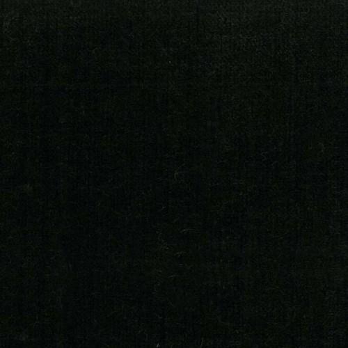 Tissu velours Lemming Luciano Marcato - Noir