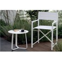 Round outdoor side table by Manutti