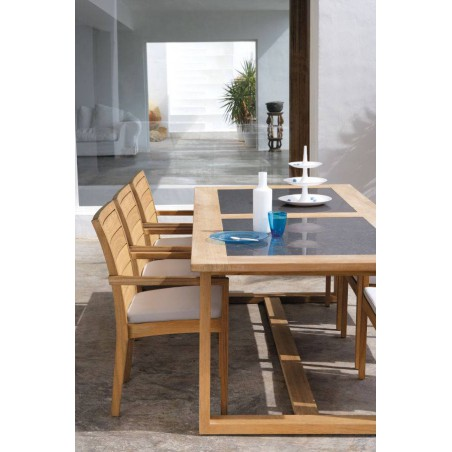 Outdoor chair Siena by Manutti